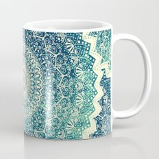 BICOLOR COLD WINTER MANDALA Coffee Mug