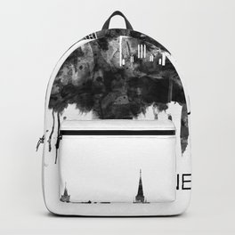Edinburgh Scotland Skyline BW Backpack