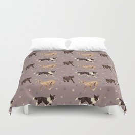 Rescue Dogs Pattern Duvet Cover