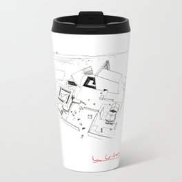 Le Corbusier The Architect Travel Mug