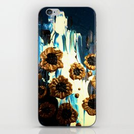 Blooming by the Glacier iPhone Skin