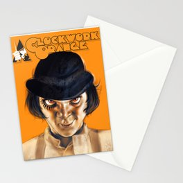 Alex DeLarge Stationery Cards
