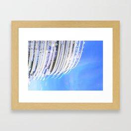 Cloudgate Framed Art Print