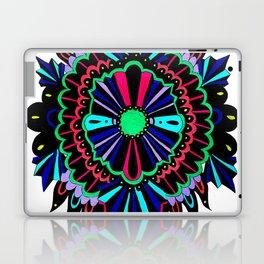 Neon Lace Peony Laptop & iPad Skin