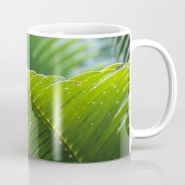 Tropical Palm Tree Leaf Coffee Mug
