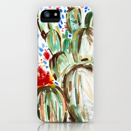 Melody Maker Plants iPhone Case