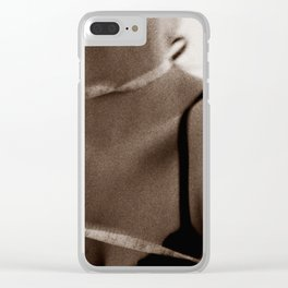 Measuring Weight, Measuring Self-Worth Clear iPhone Case