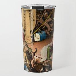 The Garden of Earthly Delights - Bosch - Hell Bird Man Detail Travel Mug