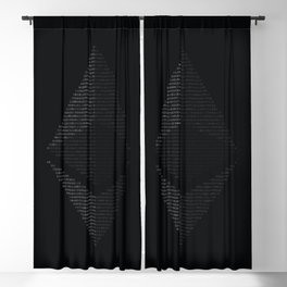 Ethereum Binary Blackout Curtain