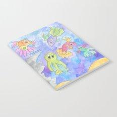 Flower Fish Notebook
