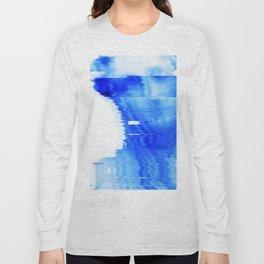 blue statue Long Sleeve T-shirt