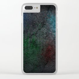 Color Splash Clear iPhone Case
