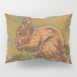 September Squirrel Pillow Sham