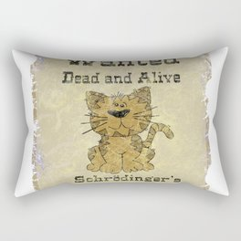 Wanted Dead And Alive Rectangular Pillow