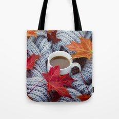 autumn coffee Tote Bag