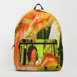 ANGELS BRING GLAD TIDINGS OF JOY Backpack