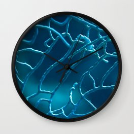 Early riser pygmy seahorse Wall Clock