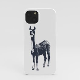 Llama Art iPhone Case