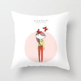 AUDREY SIRI II Throw Pillow