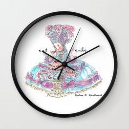 Marie Antoinette: Eat Cake Wall Clock