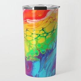 Melting Kaleidoscope Travel Mug