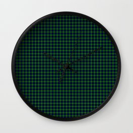 Lamont Tartan Wall Clock