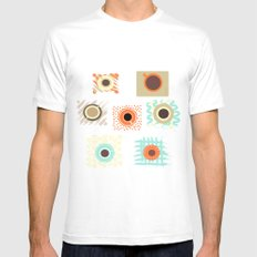 time for coffee Mens Fitted Tee White MEDIUM