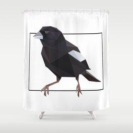 Colorado – Lark Bunting Shower Curtain