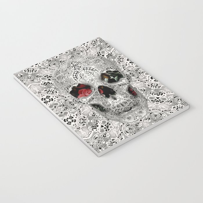 Lace Skull 2 Notebook