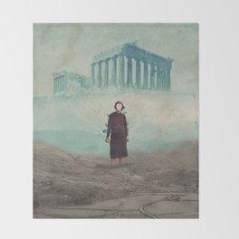 Mrs. Loneliness Throw Blanket