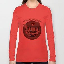 Mario Bros Fan Art Long Sleeve T-shirt