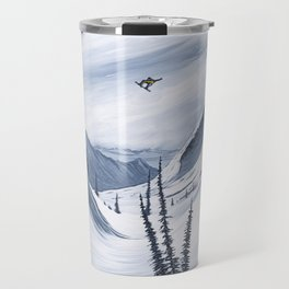 'Chads Gap' Iconic Snowboarding Moments Travel Mug