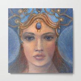 Danu Celtic Goddess Metal Print