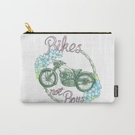 Bikes not Boys Carry-All Pouch