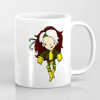 rogue Mugs featuring ROGUE by Space Bat designs