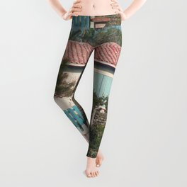 Cottage across the Road Leggings