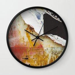 Torn  Wall Clock