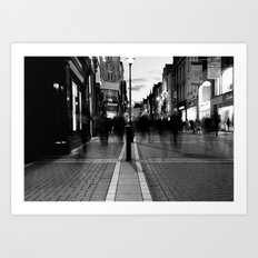 Star Light [Black & White] Art Print