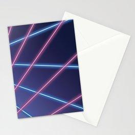 Laser Class Photo Backdrop Stationery Cards