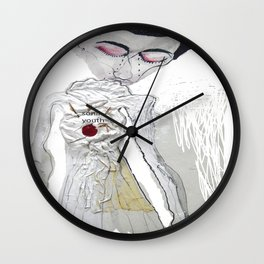 sonik youth Wall Clock