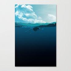 Falling Under Canvas Print