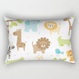 Jungle Animals Rectangular Pillow