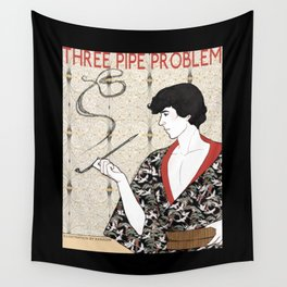 Three Pipe Problem Wall Tapestry