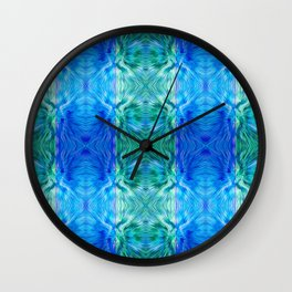 210 - abstract pattern Wall Clock