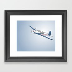 Child's Airplane Framed Art Print