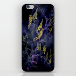 purple and yellow iPhone Skin
