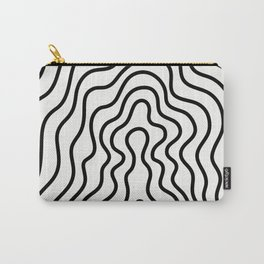 Music Line Vibes White Carry-All Pouch