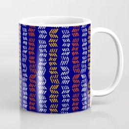Afro Tie Dye Batik Pattern 11 Coffee Mug