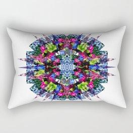 Night Flower Stellation Rectangular Pillow