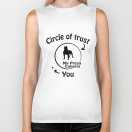 Circle of trust my Presa Canario Biker Tank